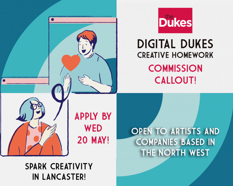 Callout to creatives: Dukes to commission 3 artists and companies