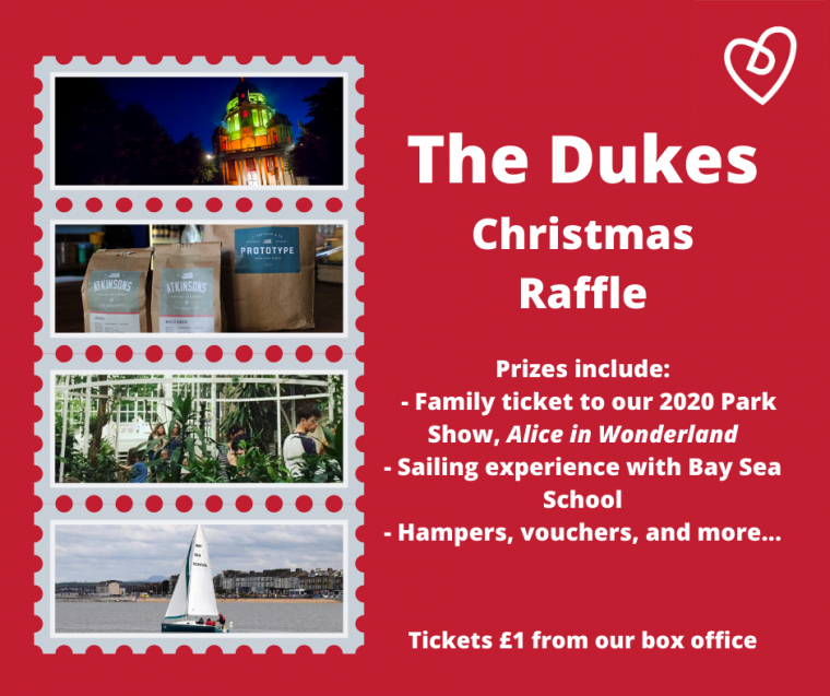 The Dukes Christmas Raffle 2019