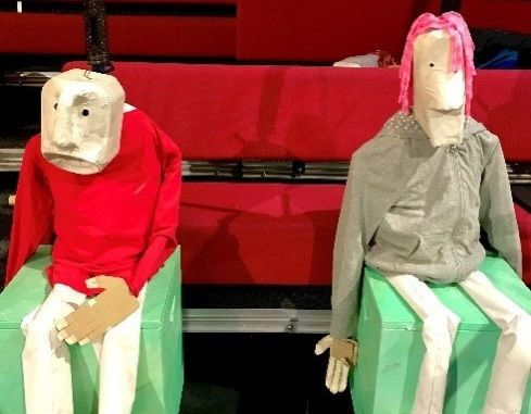 Bring Me Laughter at Home: Masks and Puppets